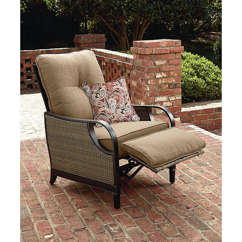 BRAND NEW - (PICKUP & SAVE $$) - La-Z-Boy Lazy Outdoor Furniture Charlotte Patio Recliner Brown Frame